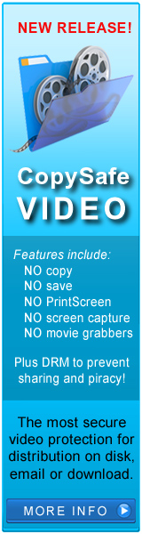 Copy protect video and movies