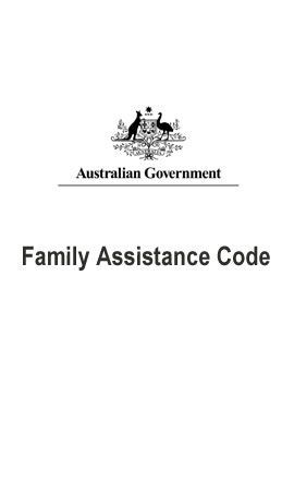 Family Assistance Code